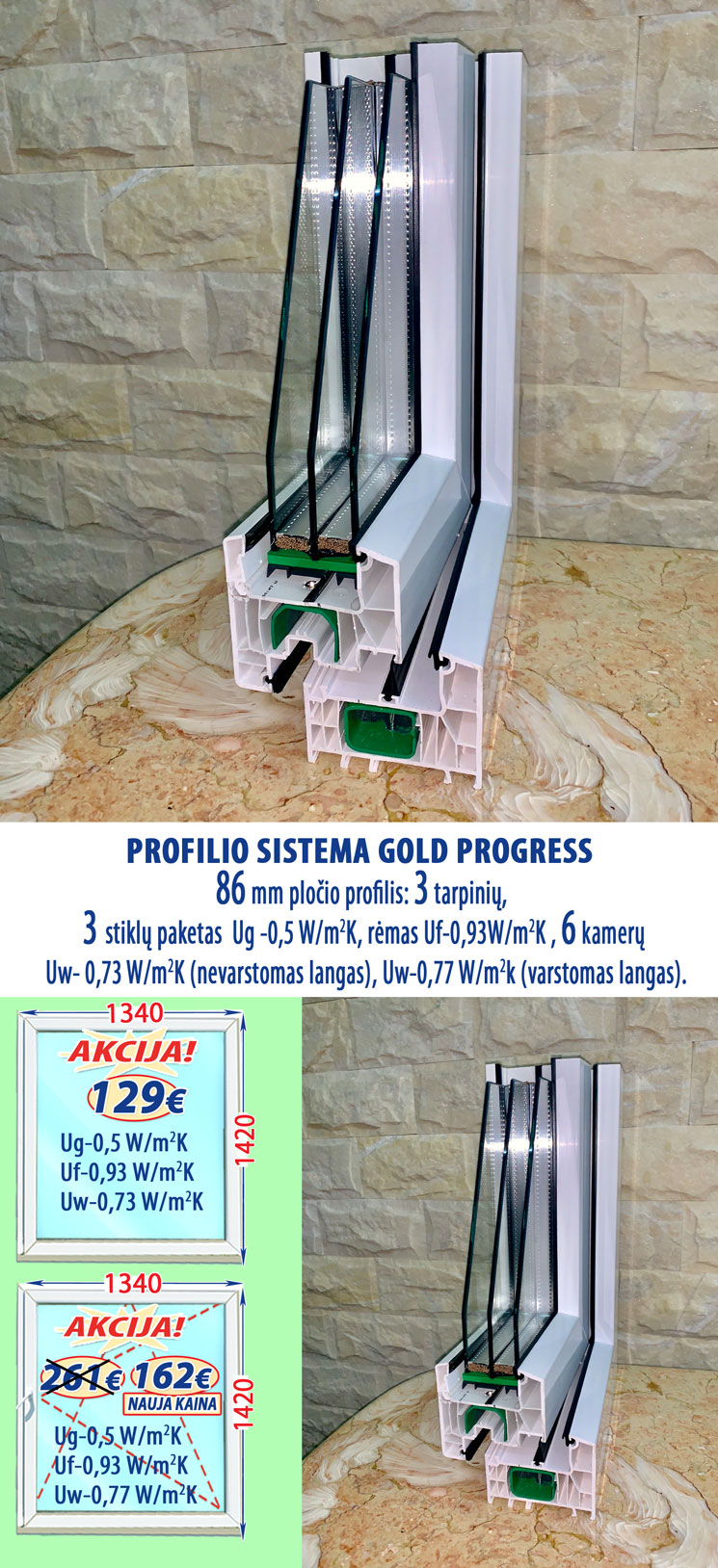 plastikiniai-langai-gold-progress-kaina
