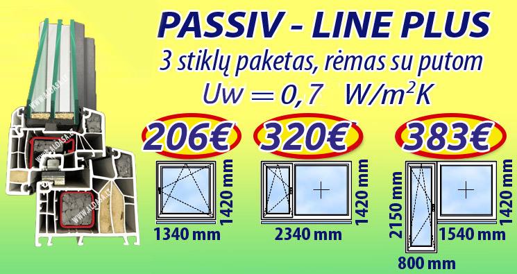 Plastikiniu langu kainos